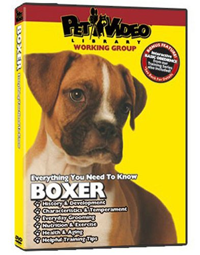 BOXER DVD! Includes Dog & Puppy Training (New Boxer Puppy)