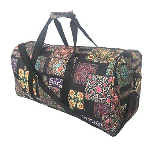 (Fashion Travel Cheer Gym Duffle Bag 21