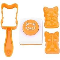 Yosoo123 Molde de Bola de Arroz de plástico Sushi Algas Bento Kit Maker Cocina Herramienta de Bricolaje Accesorios Decoración Molde