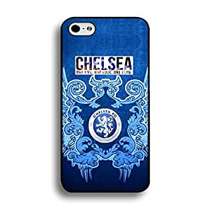 Official Chelsea CFC Football Club Phone Case ONE LIFE ONE LOVE ONE CLUB Premier League Club Chelsea FC Logo Mobile Phone Cover Case for Iphone 6/6s 4.7 (Inch)
