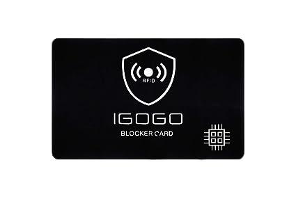 Bloqueador RFID Tarjeta, La protección RFID para Tarjetas de crédito, 1 Protector Tarjetas Crédito Mantiene Seguro su Todo Billetera, el Más Efectivo ...
