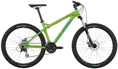 Raleigh Bikes Tokul 1 Mountain Bike, Green, 19'/ Large