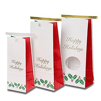 Amazon.com: Navidad Bolsas de café 1/2lb 3 – 3/8