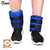 Kyпить JBM Adjustable Ankle Weights Wrist Leg Weights Sand Filling 2.2lb 4.4lb 6.6lb 8.8lb 11lb 13.2lb 17.6lb 22lb (A Pair) Double Velcro Straps for Walking Jogging Gym Fitness Exercise Gymnastics Aerobics на Amazon.com