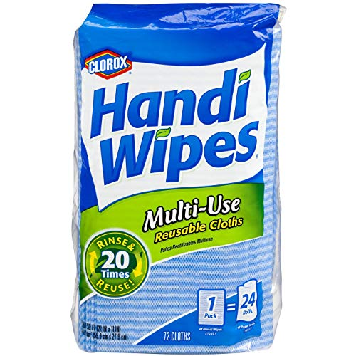 Kitchen Wipe - Clorox Handi Wipes Multi-Use Reusable Cloths, 72 ct.
