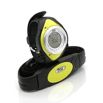 Pyle PHRM38 Reloj Digital pulsómetro, Unisex, Verde: Amazon.es: Deportes y aire libre