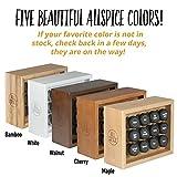 AllSpice Wooden Spice Rack, Includes 12 4oz Jars (White)