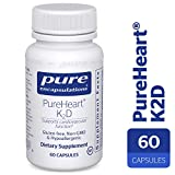 Pure Encapsulations – PureHeart K2D – Hypoallergenic Supplement to Promote Calcium Homeostasis and Cardiovascular Function* – 60 Capsules Review