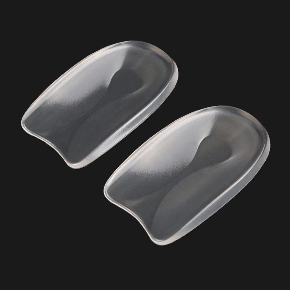 /Gr/ö/ße S rosenice Sporn Linderung der Ferse Displayschutzfolie Gel Ferse-Kissen in U-Form Ferse Pad 1/Paar/