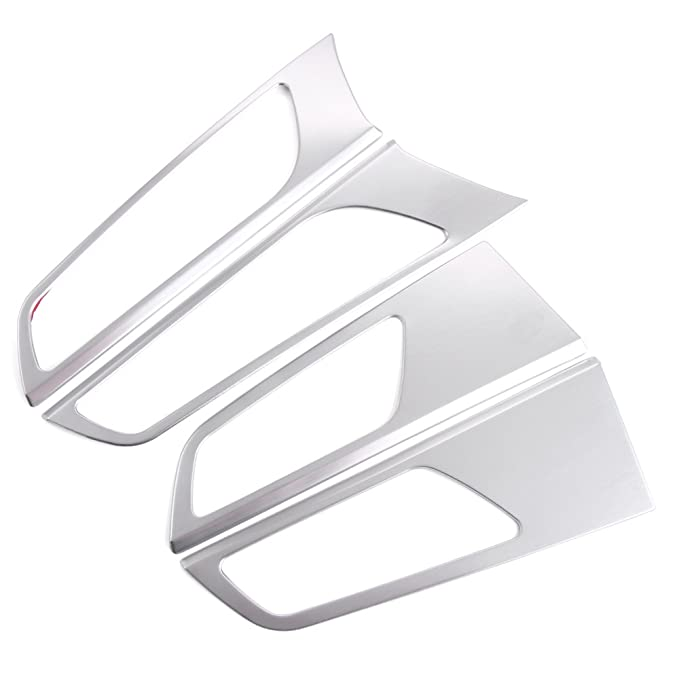 1 opinioni per Door Handle Bowl Cover Decoration Ring Trim Stainless Steel Only Fit Left Hand