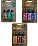 #7: Ranger Vintaj Patina Collection - Weathered Copper Kit, Rusted Hardware and Antique Window - 9 bottles total!