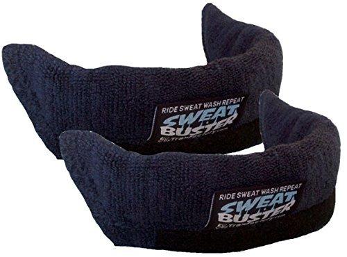 Sweat Buster Trax Factory The Original 2 Count Navy Blue Bike Helmet Sweatband
