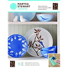 Martha Stewart Crafts Glass Silkscreen (8.5 by 11-Inch), Birds and Branches