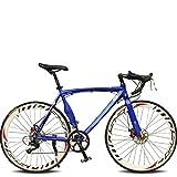 26 Inch 14 Speed Cycling Road Bike 50mm Men's Women's Unisex Adult SHIMANO TX30 Double Disc Brake Ordinary Monocoque