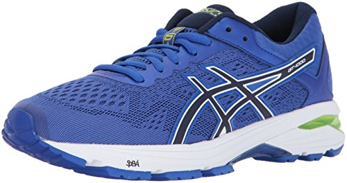 ASICS Womens GT-1000 6 Running Shoe, Purple/Indigo Blue/Neon Lime, 7 Medium US