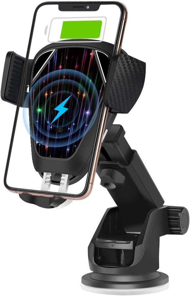 Kabelloses Auto Ladegerät Automatisch Einziehbar 10 W 7 5 W Qi Kabellos Schnellladung Kompatibel Mit Iphone 11 11 Pro 11 Pro Max Xs Xs Max Xr X 8 8 Samsung Note 10 S10 S10 Te 9 S9 S8 S8 Elektronik