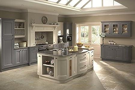 CK Kitchens Tetbury Painted Bone (Burbidge) Kitchen Units U0026 Doors Rigid  Built Kitchens