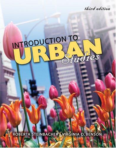 Introduction to Urban Studies