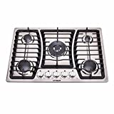 Best 30 Gas Cooktops - Unique Gas 30 in. On-Grid/Off Grid Propane or Review