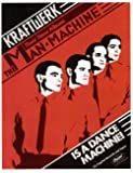 Kraftwerk The Man Machine Reproduktion Promo Poster 40x30cm