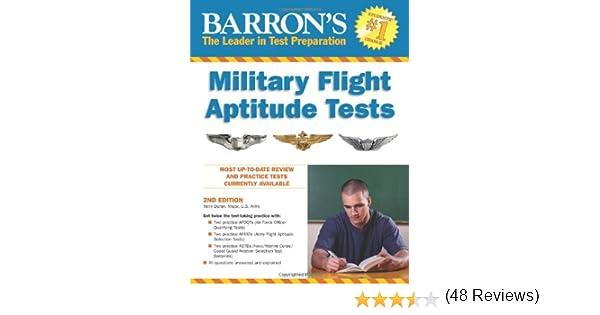 Barron's Military Flight Aptitude Tests: Terry Duran ...