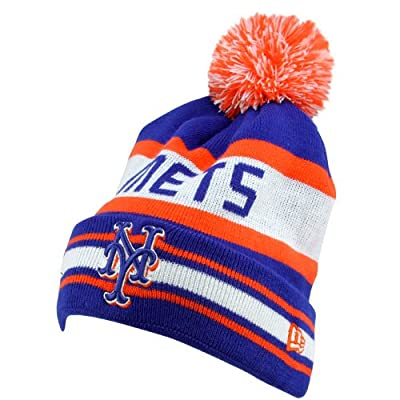 New York Mets New Era The Jake Cuffed Knit Hat