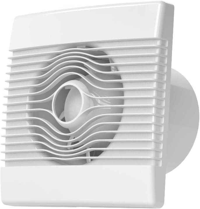 Calidad pared baño extractor de cocina 150mm ventilador con sensor de humedad prim ventilador