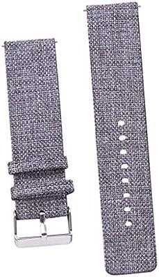 1 Pieza Banda de 20mm Reemplazo Pulsera Smartwatch Trabaja con ...