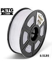 PETG 3D Printer Filament, 1.75mm PETG Filament, 2.2 LBS (1.0KG) Dimensional Accuracy +/- 0.02mm,Soft & Non-toxic Material, Enotepad PETG