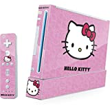Cheap Hello Kitty Wii (Includes 1 Controller) Skin – Hello Kitty Face Pink Vinyl Decal Skin For Your Wii (Includes 1 Controller)