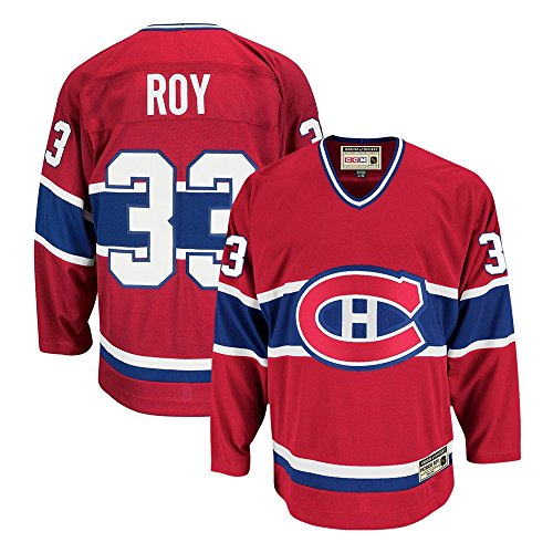 CCM Patrick Roy Montreal Canadiens Heroes of Hockey Authentic Throwback Jersey