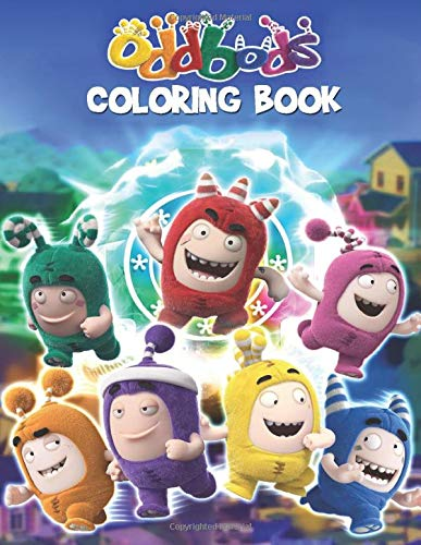 Amazon Com Oddbods Coloring Book Great Coloring Book Gift For Boys Girls Ages 3 8 9798649255776 Garcia Dannetta Books