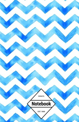 gmco-notebook-journal-dot-grid-lined-graph-120-pages-55x85-blue-ocean-chevron-chevron-notebook