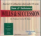 Sum & Substance Audio on Wills & Succession, Third Edition (Sum & Substance)