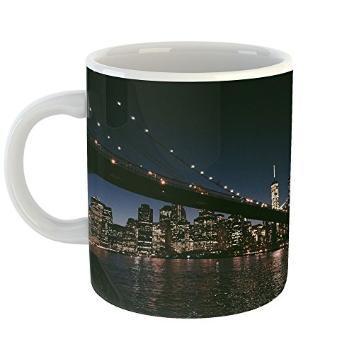 Westlake Art - City Urban - 11oz Coffee Cup Mug - Modern Picture Photography Artwork Home Office Birthday Gift - 11 Ounce (FA92-259A2) ()