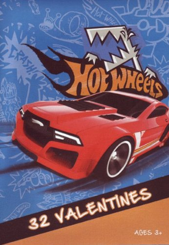 Price comparison product image 32 Hot Wheels Valentines