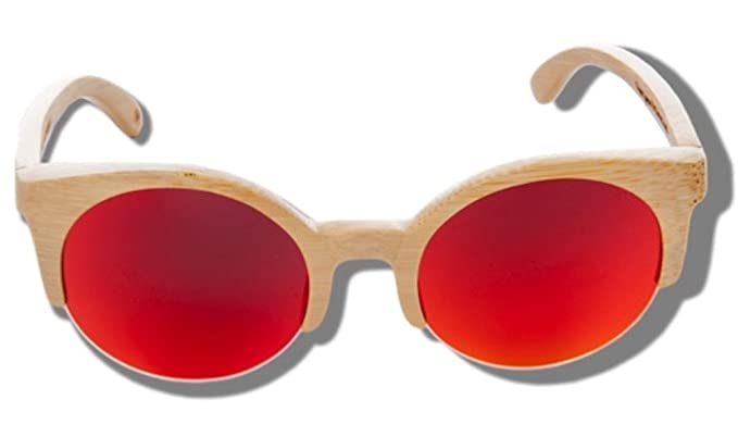 Orange Lynx - Gafas de Sol de Madera: Amazon.es: Ropa y ...