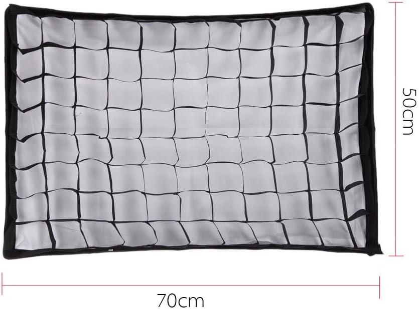 2028 Umbrella Softbox Studio//Strobe Umbrella Softbox Dingq Photographic Honeycomb Grid for 5070cm