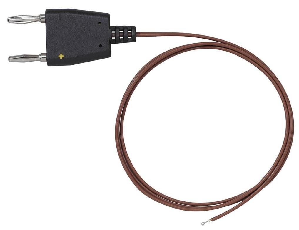 TestHelper TC560 K Type Thermocouple Probe 4mm Dual Banana -40° to 500° F (-40° to 260° C),Length 39'' (1 m) Insulated Wire Contact Temperature
