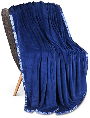 Utopia Bedding Fleece Blanket Sateen