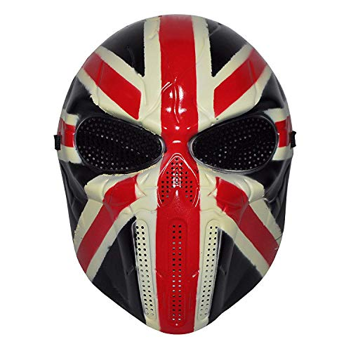 UK Full Face Hockey Halloween Mask (HM31)