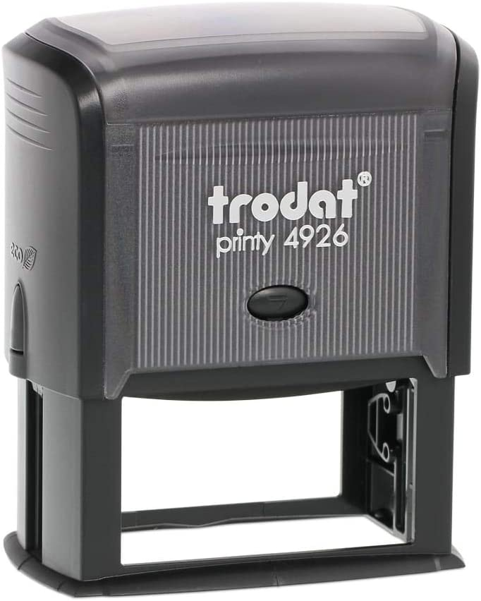 Trodat Printy 4926 Personalized Individual Custom Self Inking Stamp 1-1//2 x 3