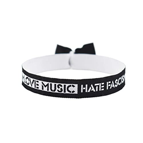 Festivalband Armband Festivalbändchen Black lives matter