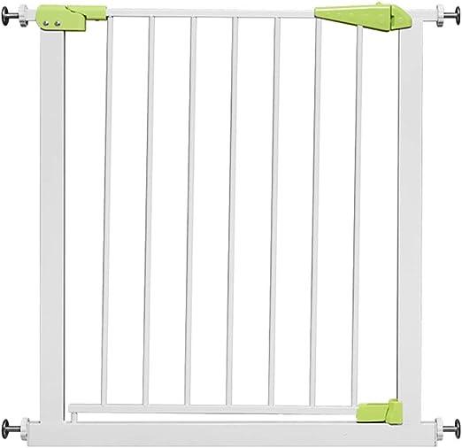 HUO barandilla Puerta De Seguridad, Cierre Automático, Extensión De Metal, Seguridad, Seguridad para Niños, Puerta De La Escalera, Cerca del Bebé. (Color : Green, Size : 85-94cm): Amazon.es: Hogar