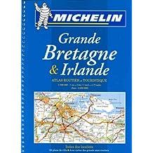 Michelin Grande Bretagne Et Irlande Atlas Routier Et Touristique (Spirale), Atlas No. 122, 15e