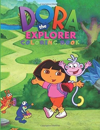 Dora Coloring - #1 Dora Coloring Pages and Printables Website! | 500x387