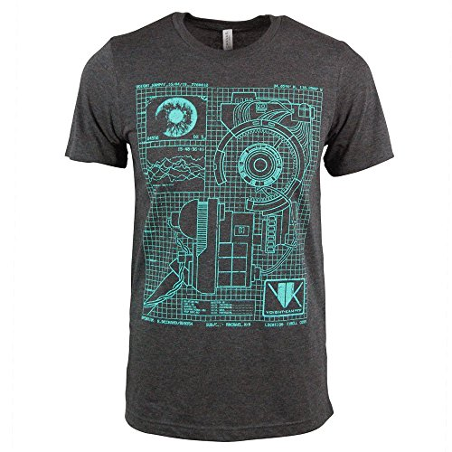 Men's Blade Runner Voight Kampff Machine Schematic T Shirt, M, L, XL