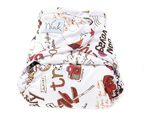 Wink Organic Bamboo Pocket Cloth Diaper (Passport)