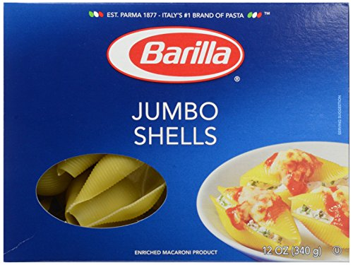 Barilla Jumbo Shells