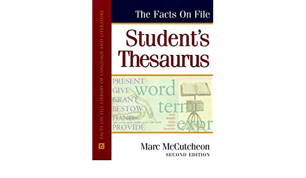 students thesaurus facts on file
